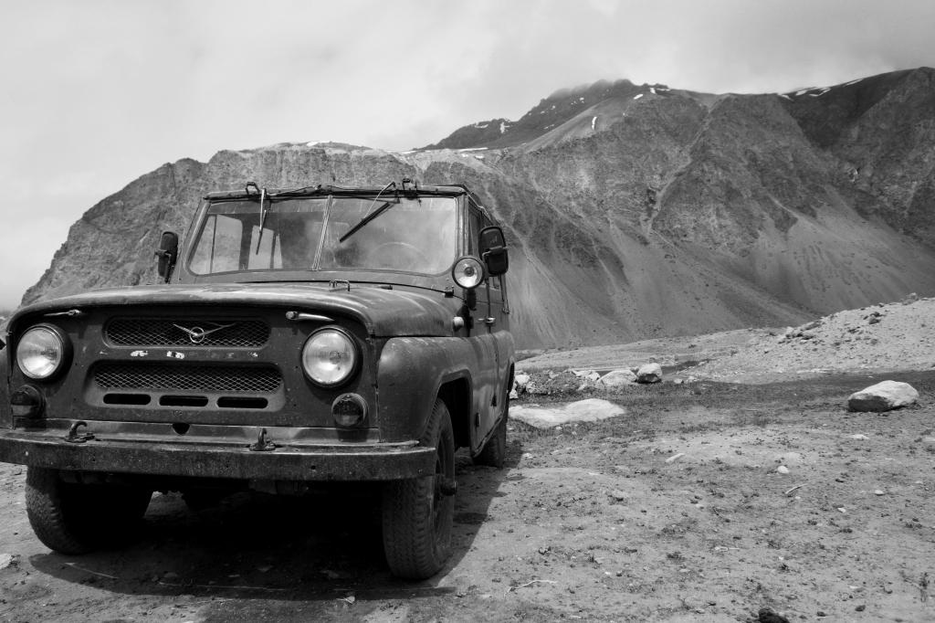 russischer Jeep