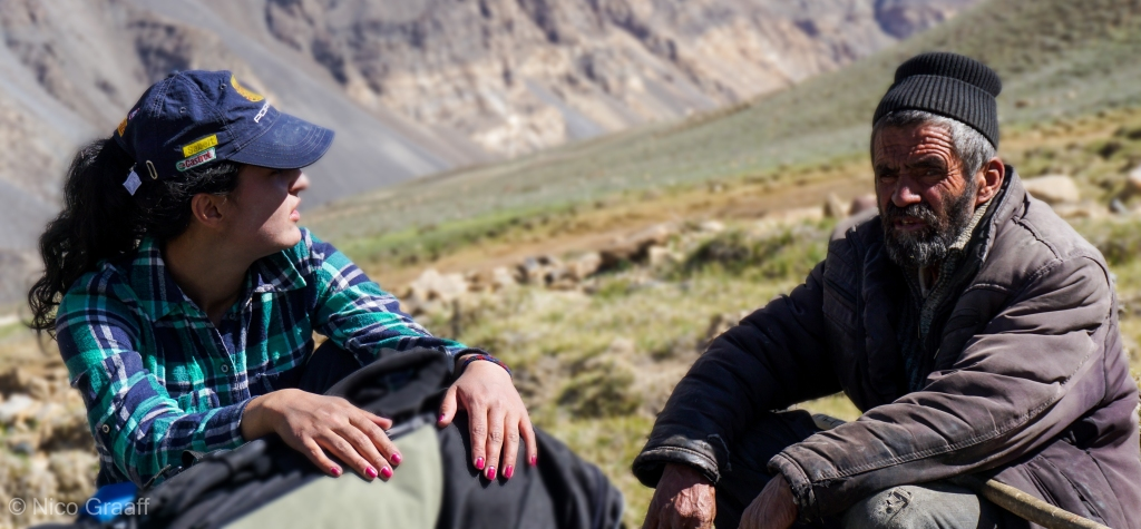 Generations in the Pamirs at eye level